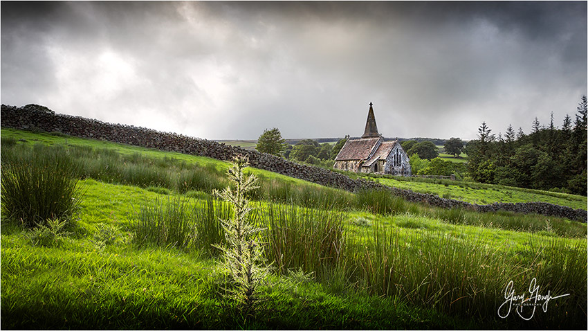 Blubberhouses Church - Landscape Photography