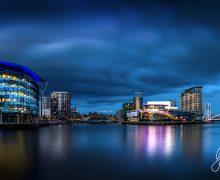 Manchester Quays The Blue Hour