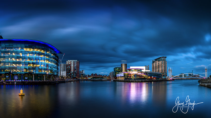 Manchester Quays The Blue Hour